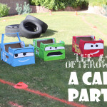 the A-Z of throwing a Cars party