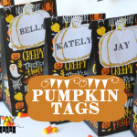 Pumpkin Tags Free Printable
