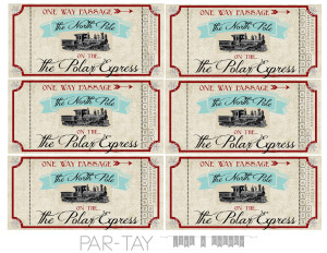 polar express free printable train tickets no year