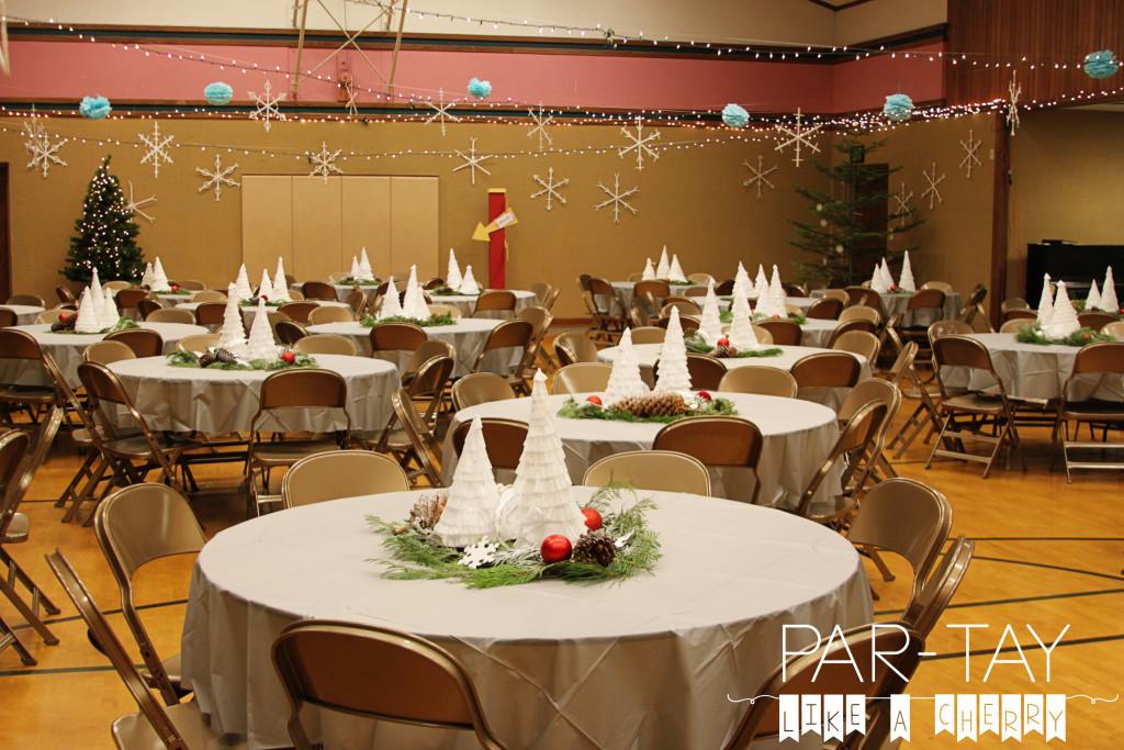 polar express party set up