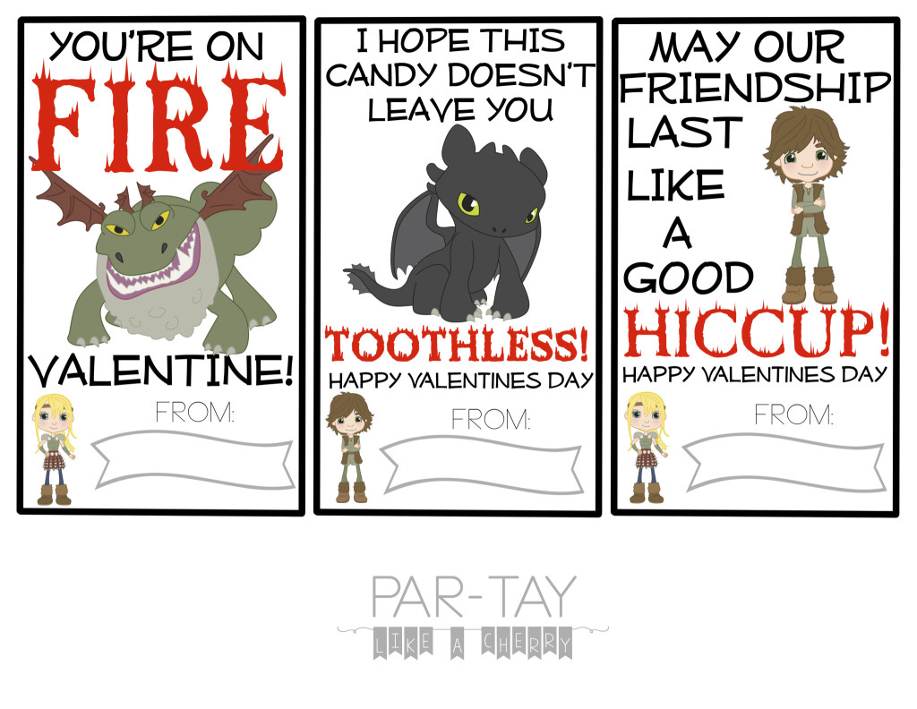 How to train your dragon free valentines cards party like a cherry how to train your dragon valentines day cards from only clipart version ccuart Choice Image