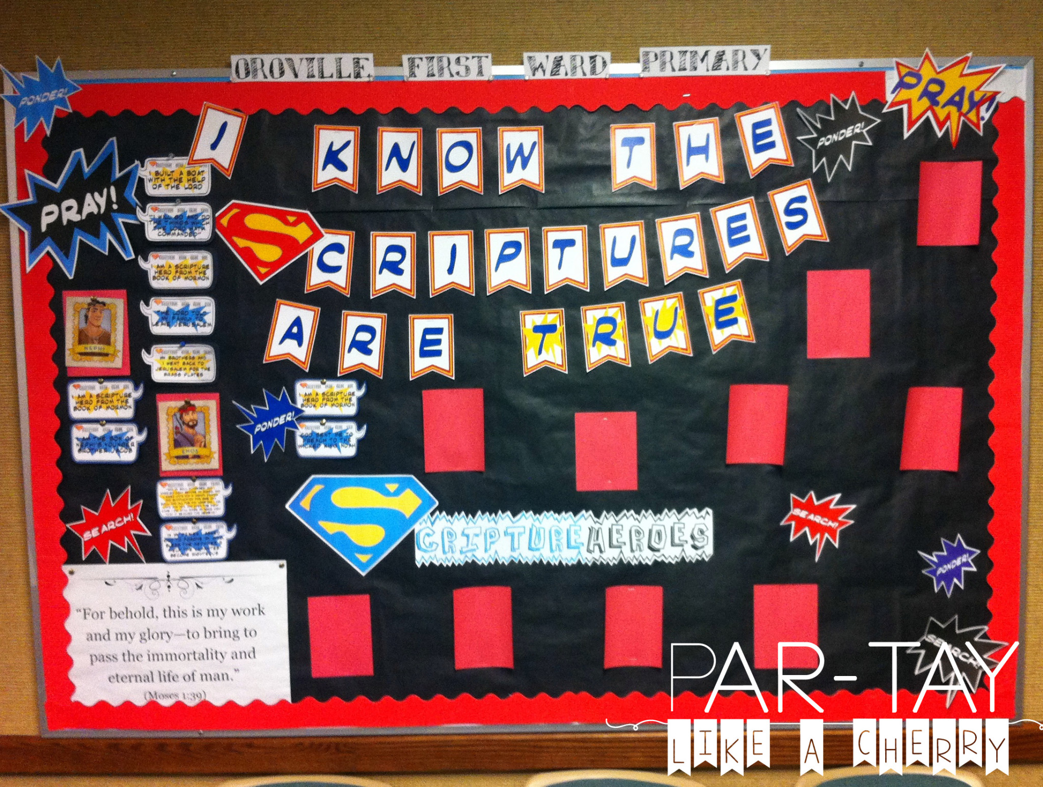 primary bulletin board idea