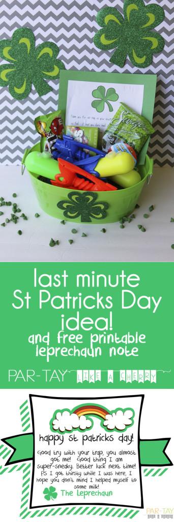 last minute st patricks day idea