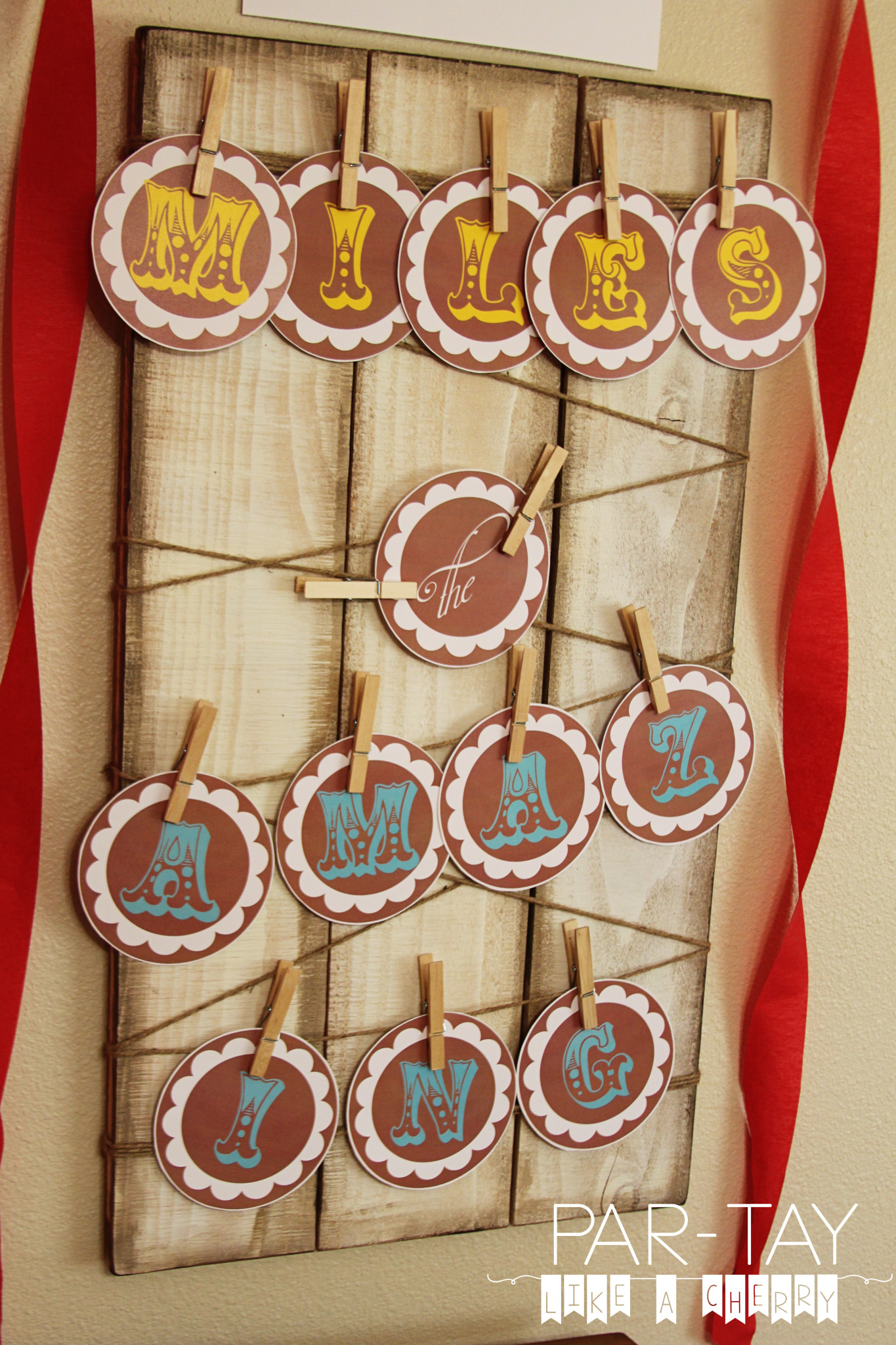 circus party ideas and free printables