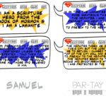 Scripture Hero Clue Cards- Samuel the Lamanite