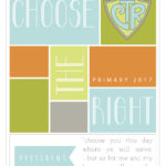 """Primary Theme """"Choose the Right"""" Binder Covers"""