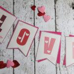 Free Printable Valentines Banner