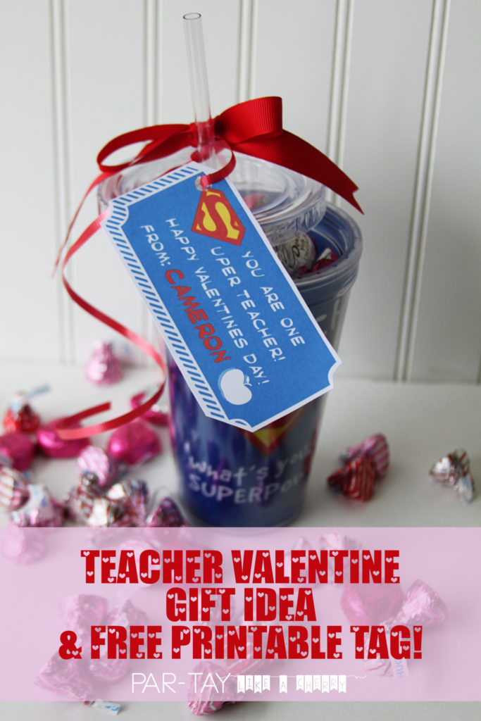 teacher appreciation valentines gift free printable