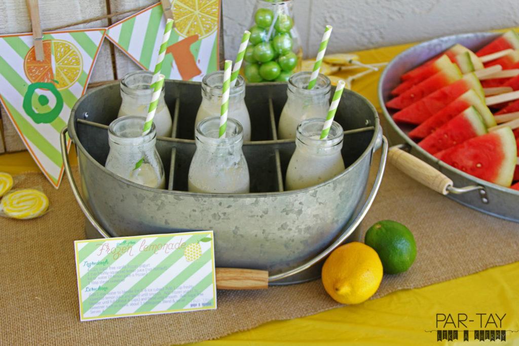 guilt free frozen lemonade recipe perfect healthy summer treat