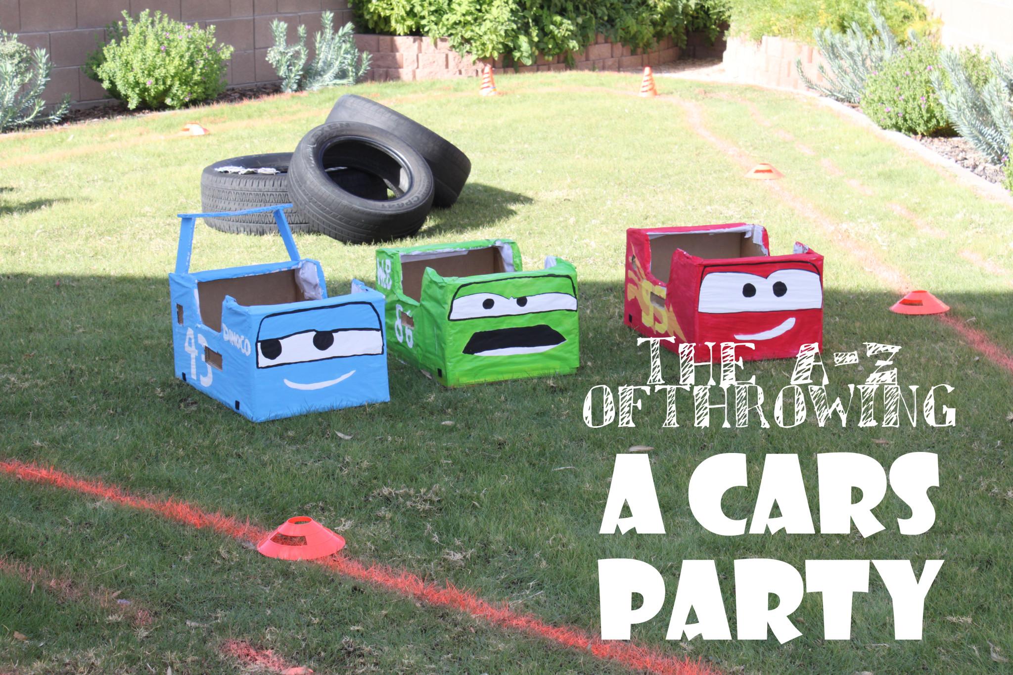 Cars Birthday Party Decoration Ideas