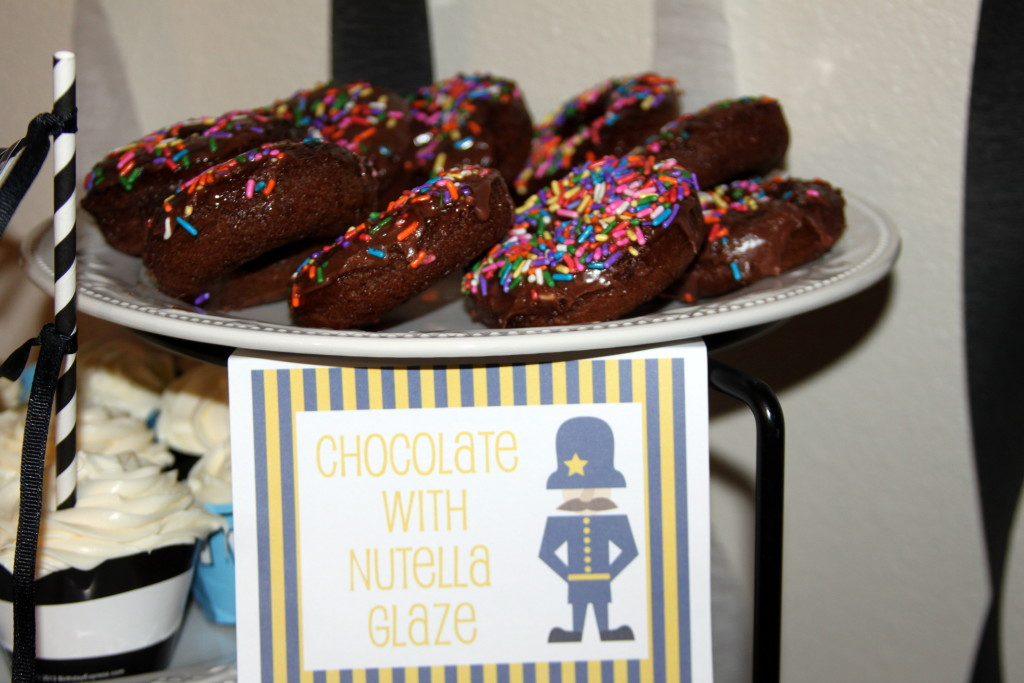 police party donuts