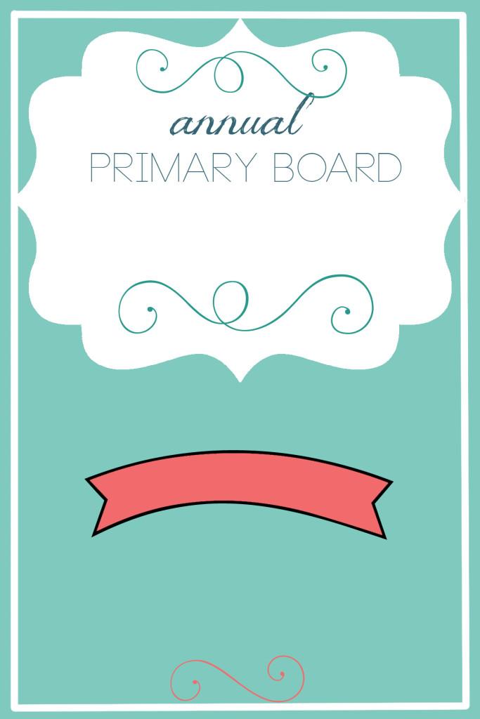 primary board meeting invite template generic