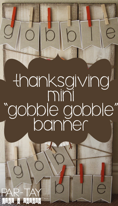 thanksgiving free printable banner