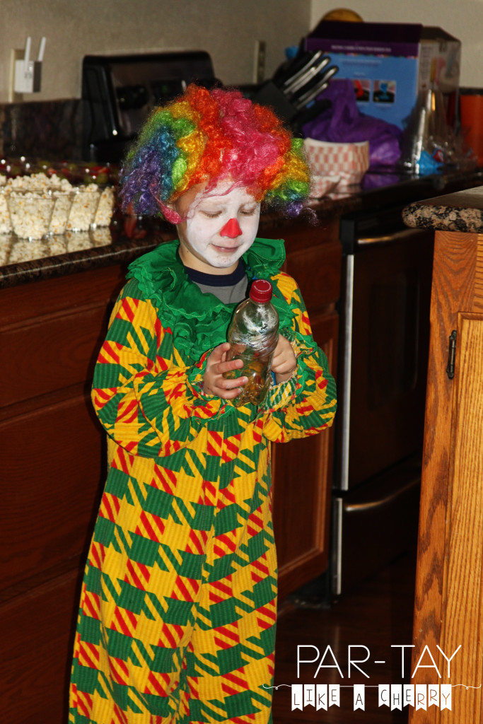 clown entertainment at circus party