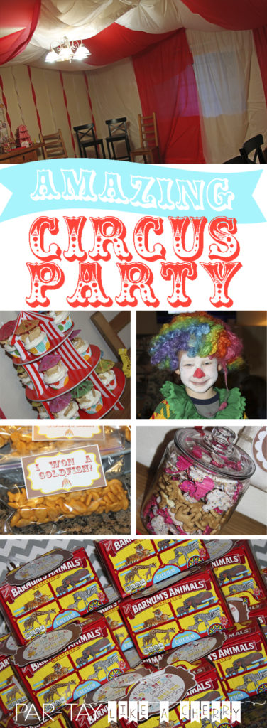 everything you need to throw the best circus party