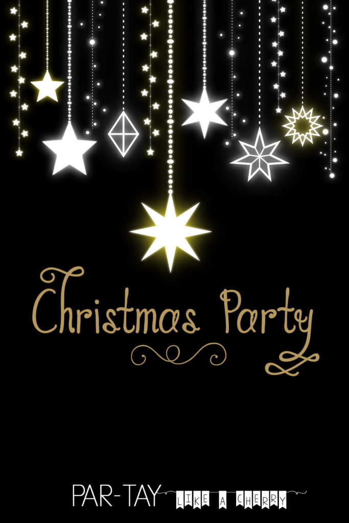 Free Christmas Party Invitation Party Like A Cherry