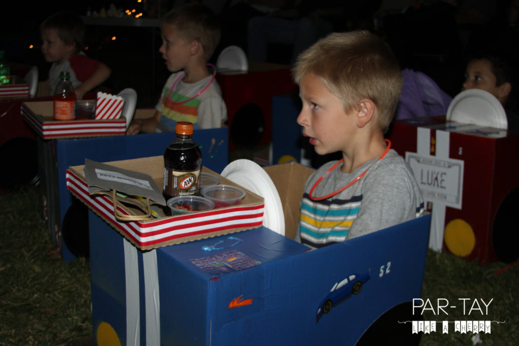 drive in movie party ideas and free printables