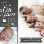 Birth Announcements & Newborn Photography