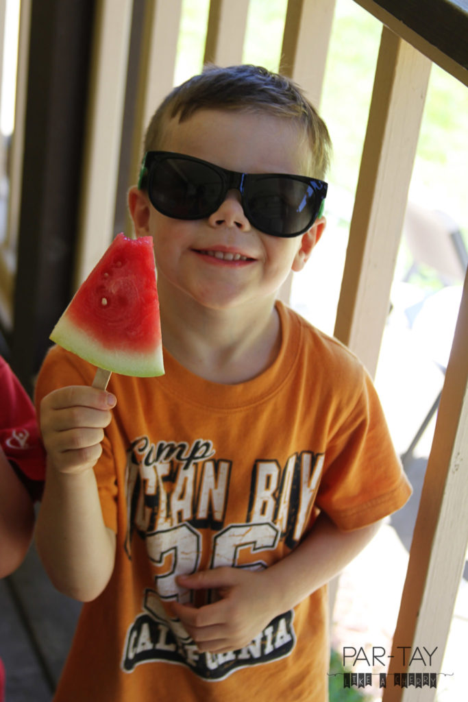 watermelon popsicles healthy summer kid snack idea