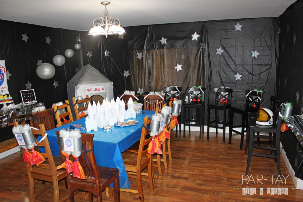 space party decoration ideas and printables