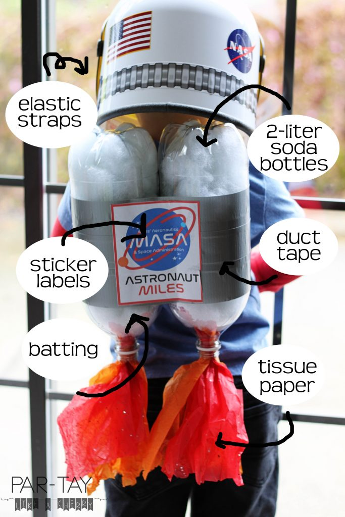 how to make a jet pack out of soda bottles