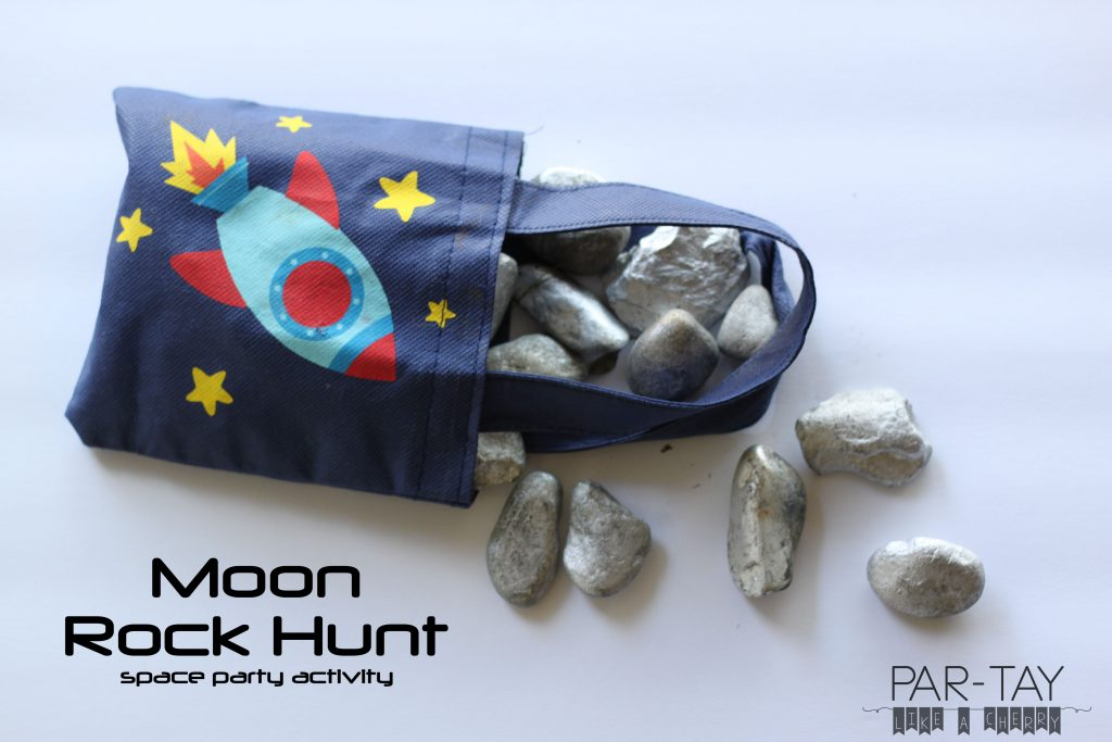 how to do a moon rock hunt