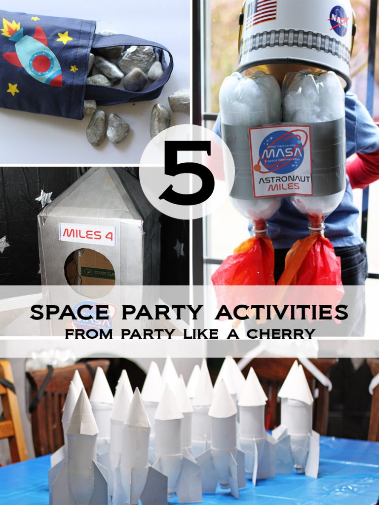 5 space party activities and game ideas for your space party