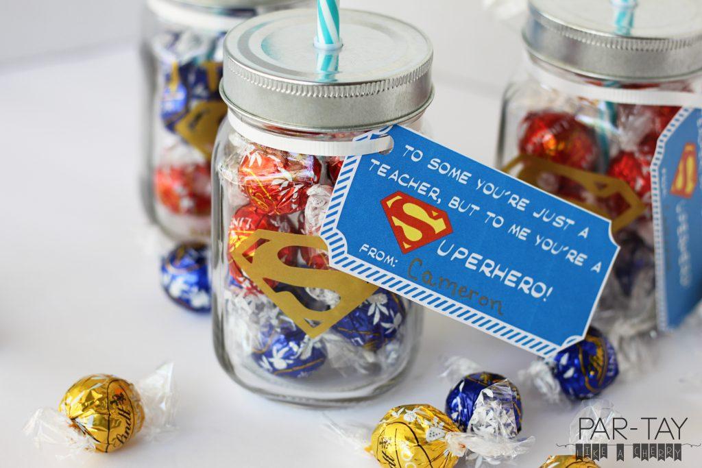 free printable teacher appreciation superman tags