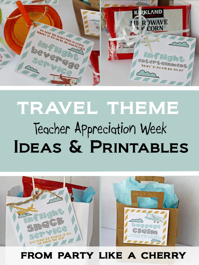 photo regarding Redbox Teacher Appreciation Printable identified as PTA Trainer Appreciation 7 days Programs - Social gathering Such as a Cherry